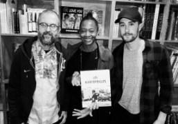 """Ari Marcopoulos """"Not Yet"""" book signing at Dashwood Books, New York"""