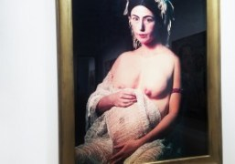 """Cindy Sherman and David Salle """"History Portraits and Tapestry Paintings"""" Exhibition at..."""