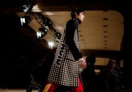 """Tim Coppens, named """"Menswear Guest Designer"""", presents his F/W 2017 collection during..."""