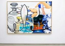 "David Salle ""New Paintings"" exhibition at Galerie Thaddaeus Ropac, Paris"