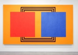 """Peter Halley """"Paintings from the 1980's"""" exhibition at Modern Art, London"""