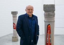 """Bertrand Lavier """"A cappella"""" exhibition at Almine Rech Gallery, Paris"""
