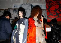"""Bjarne Melgaard """"The Casual Pleasure of Disappointment""""Magazine launch party at Red Bull..."""