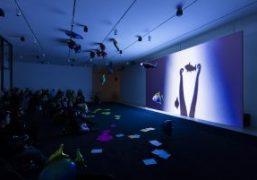 """Philippe Parreno """"La levadura y el anfitrión"""" exhibition at Museo Jumex, Mexico..."""