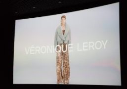 Veronique Leroy F/W 2018 presentation at Cinéma Le Balzac, Paris