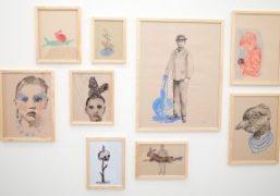 """Edi Dubien """"Apparitions sentimentales"""" exhibition at Galerie Alain Gutharc, Paris"""