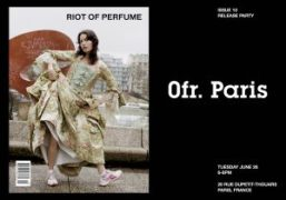 Celebrate the launch of RIOT OF PERFUME magazine's Issue 10 at 0fr....