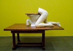 """Sarah Lucas """"Au Naturel"""" at New Museum, New York"""