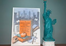 """Cleo Le-Tan's New Book """"A Booklover's Guide to New York"""" with Illustrations..."""