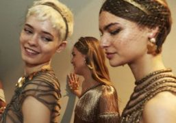 Dior Couture S/S 2020 Backstage at Musée Rodin, Paris