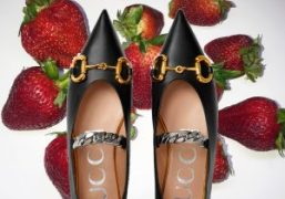 Purple WANT: Ballet Flat Shoes By Gucci