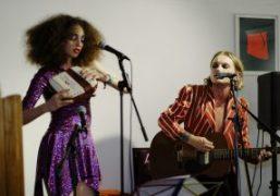 "Lukas Ionesco and Clara Benador's ""Magic Stone"" Release party at 0FR, Paris"