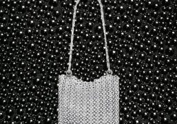 purple WANT: Iconic 1969 Bag by Paco Rabanne