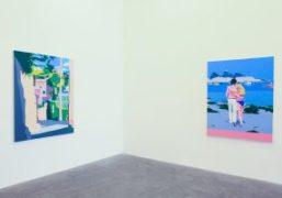 """The Caboose"" an exhibition by Guy Yanai at Praz-Delavallade, Los Angeles"