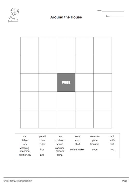 Bingo Card Bingo Sheet Maker
