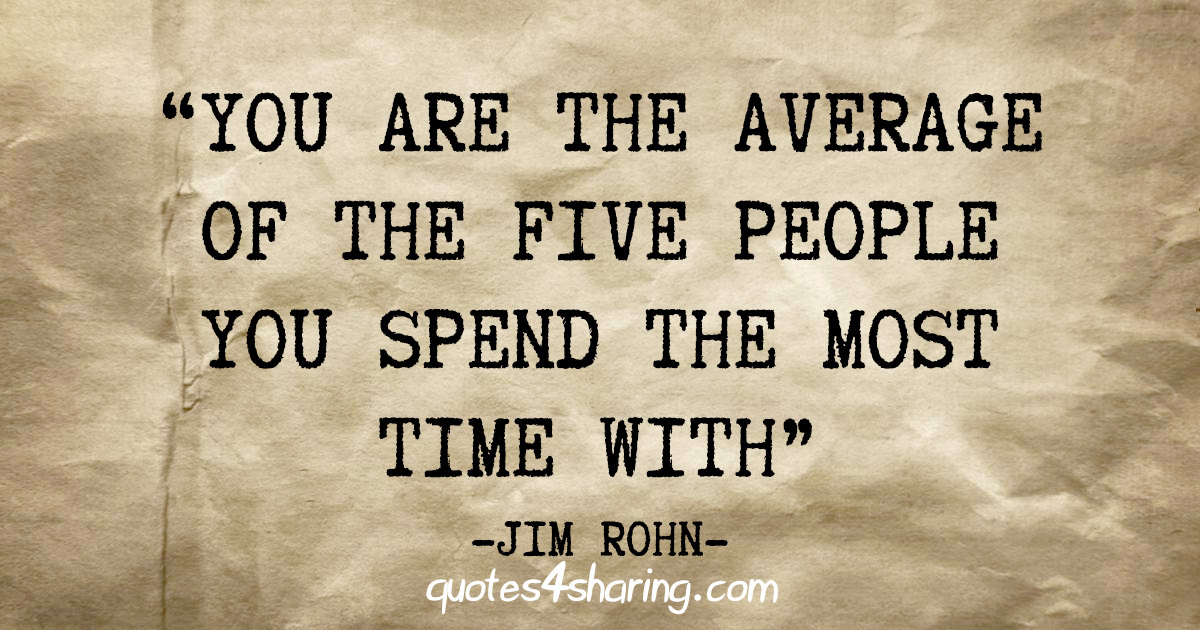 Image result for you're the average of the five people