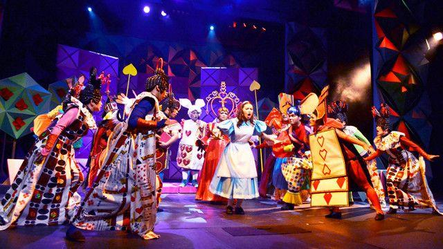Alice In Wonderland A Visual Musical Treat