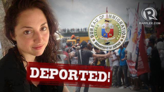 Canadian Activist Deported