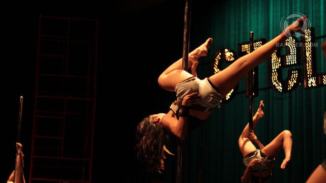 BUILD UP STRENGTH, build up confidence. A teaser to our story tomorrow on the Polecats recital. Photo by Jirah Suyo