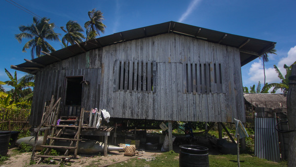 FAILED DREAMS. This is where a Jabidah recruit, Ernesto Sambas, continues to live in Simunul, Tawi-Tawi. Photo by Karlos Manlupig