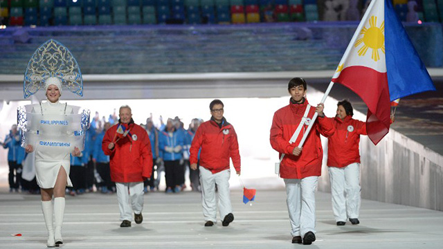 EVERYTHING ON THE LINE. With little government support, the family of Michael Christian Martinez's family mortgaged their home to send him to Sochi. Photo by Andrej Isakovic/AFP