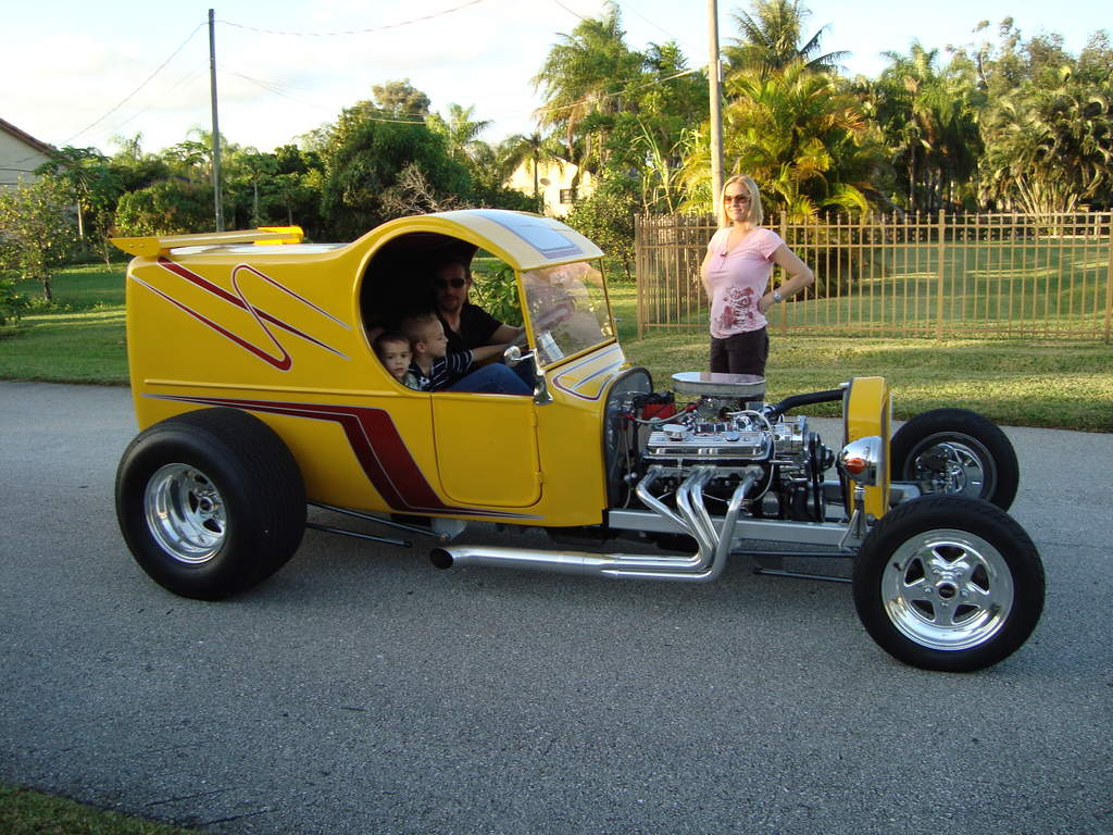 Homemade Rat Rod Roadsters