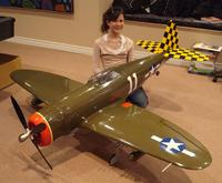 Hangar 9 1 50 p 47 conversion   RC Groups Images