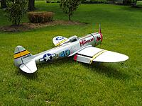 Horizon Hobby Hangar 9 P 47D 40 Thunderbolt 30cc ARF   RC Groups P 47D Hun Hunter XVI
