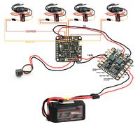 Naze32 rev6 wiring linear bec esc and connecting a buzzer