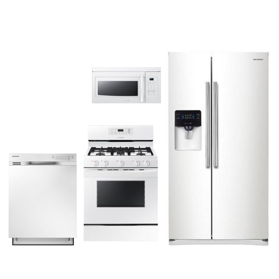 White Kitchen Appliance Packages