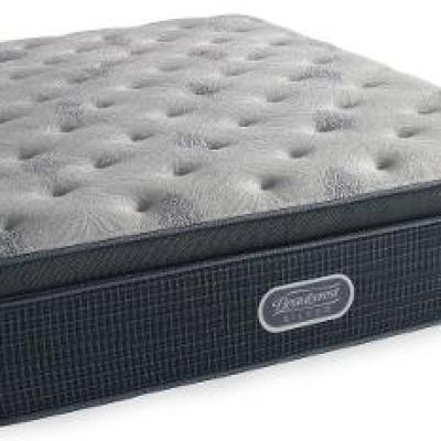 700753189 1050 Queen Mattress Beautyrest Huntington Harbour Plush Pillow Top