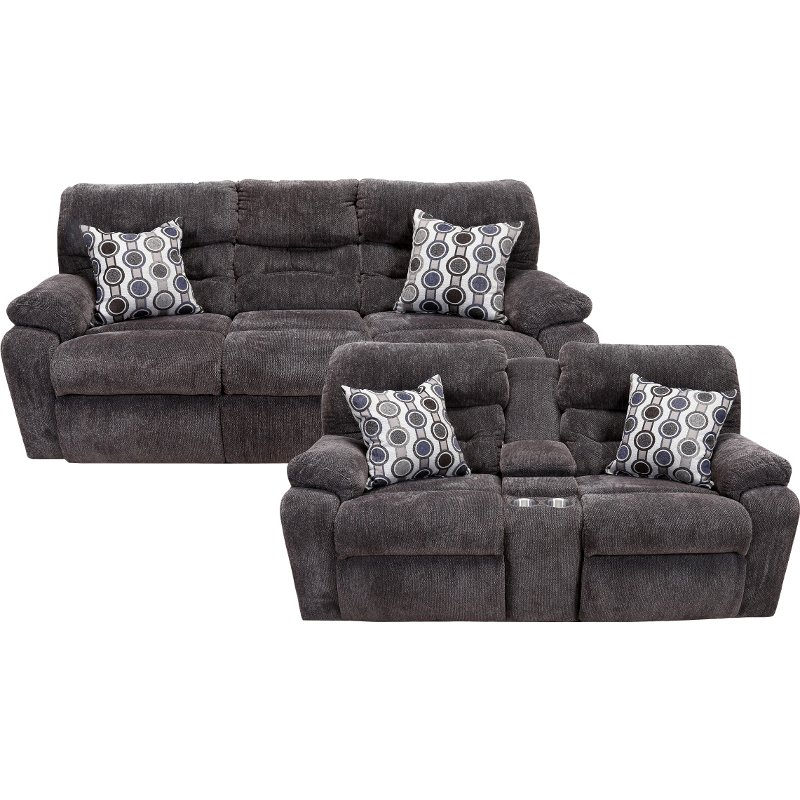 Chocolate Brown Power Reclining Living Room Set   Tribute   RC     Chocolate Brown Power Reclining Living Room Set   Tribute