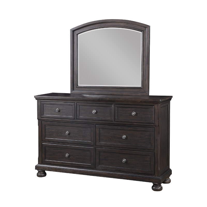 traditional chocolate brown dresser stella rc willey furniture store