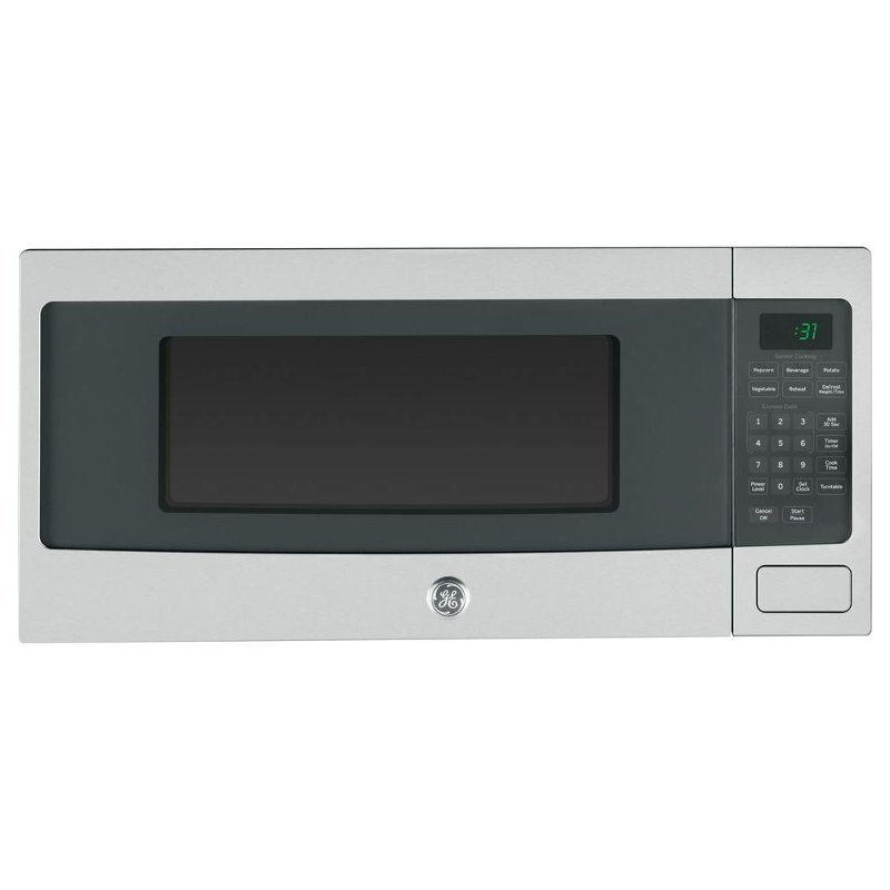 ge profile countertop microwave 1 1 cu ft stainless steel rc willey furniture store