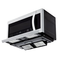 lg over the range microwave 2 2 cu ft stainless steel