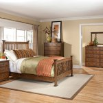 Get The Mission Oak 4 Piece Queen Bedroom Set Oak Park From R C Willey Now Ibt Shop