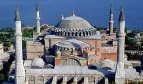 Mueseum Hagia Sophia di Turki