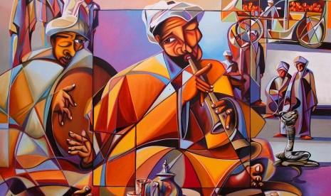 Musik Islam (ilustrasi).