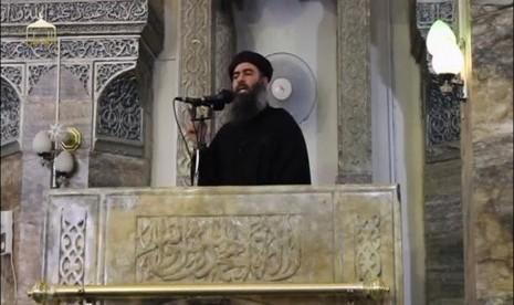 Pemimpin ISIS Abu Bakr al-Baghdadi