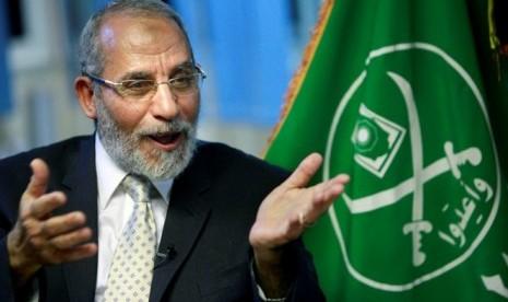 Pimpinan tertinggi Ikhwanul Muslimin Mohamed Badie
