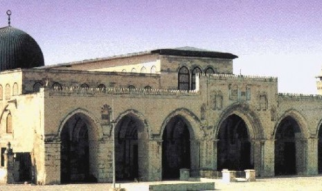 Salah satu bagian Masjidil Aqsa