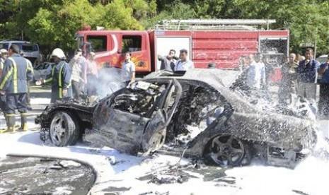Serangan yang menimpa Perdana Menteri Suriah Wael al-Halki di Damaskus