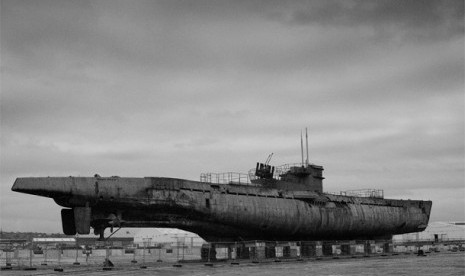 U-Boat kapal selam milik Nazi Jerman