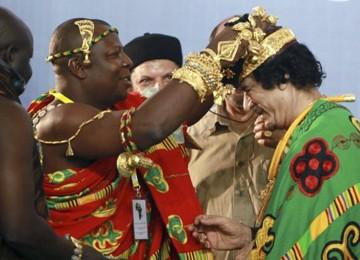 Qaddafi Segalanya, Negara-negara di Afrika Tergantung pada Libya