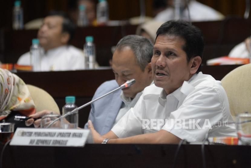 Menteri Pendayagunaan Aparatur Negara dan Reformasi Birokrasi (Menpan RB) Asman Abnur.