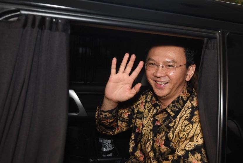 Gubernur DKI Jakarta Basuki Tjahaja Purnama atau Ahok