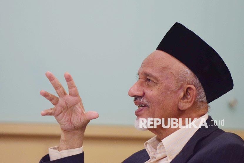 Ketua Dewan Dakwah Islamiyah Indonesia (DDII) Periode 2015-2020 Mohammad Siddik
