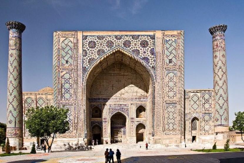 Madrasah Ulugh Begh lumbung ilmuwan Uzbekistan