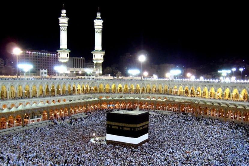 Makkah, menjadi pusaran jamaah haji seluruh dunia.