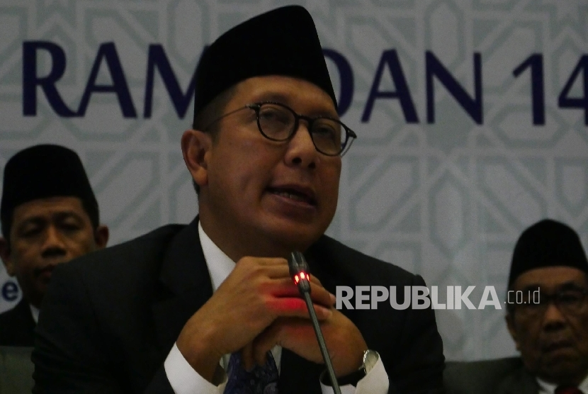 Menteri Agama Lukman Hakim Saifuddin.  (Republika / Darmawan)